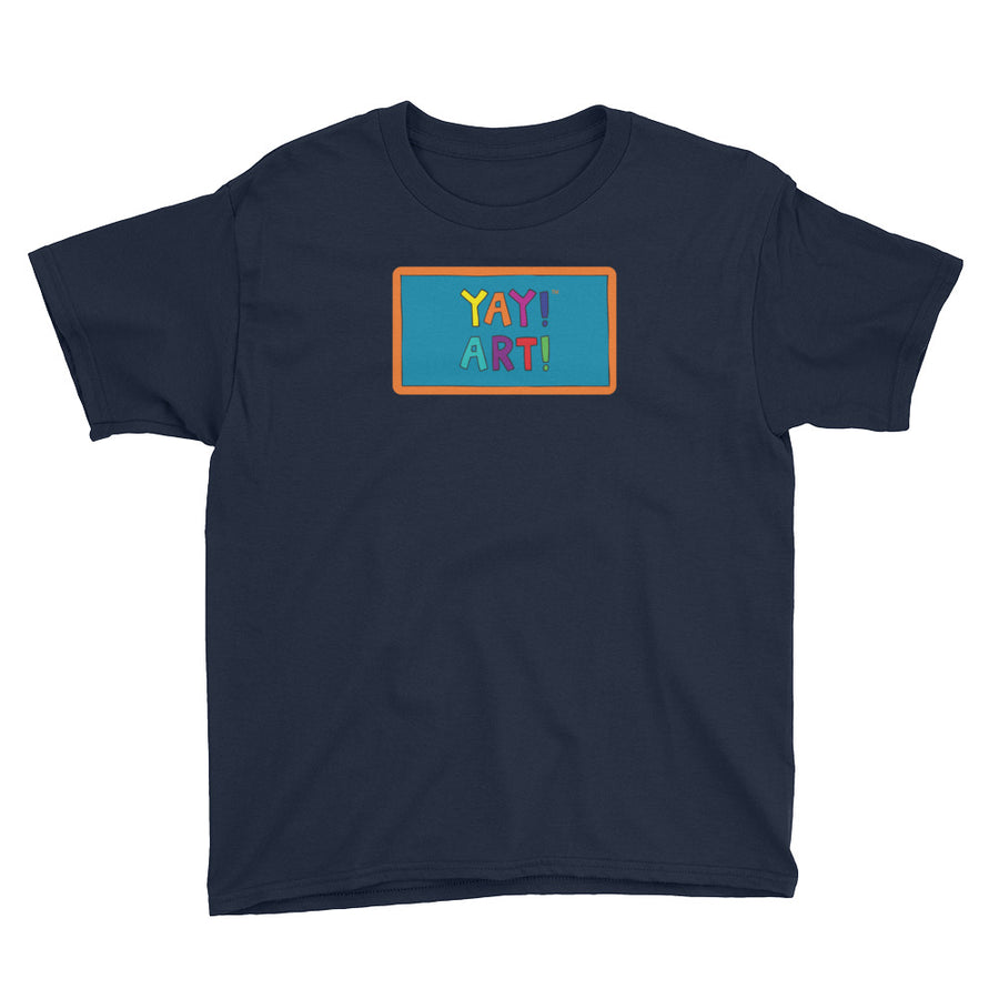YAY! ART! Youth Short Sleeve T-Shirt
