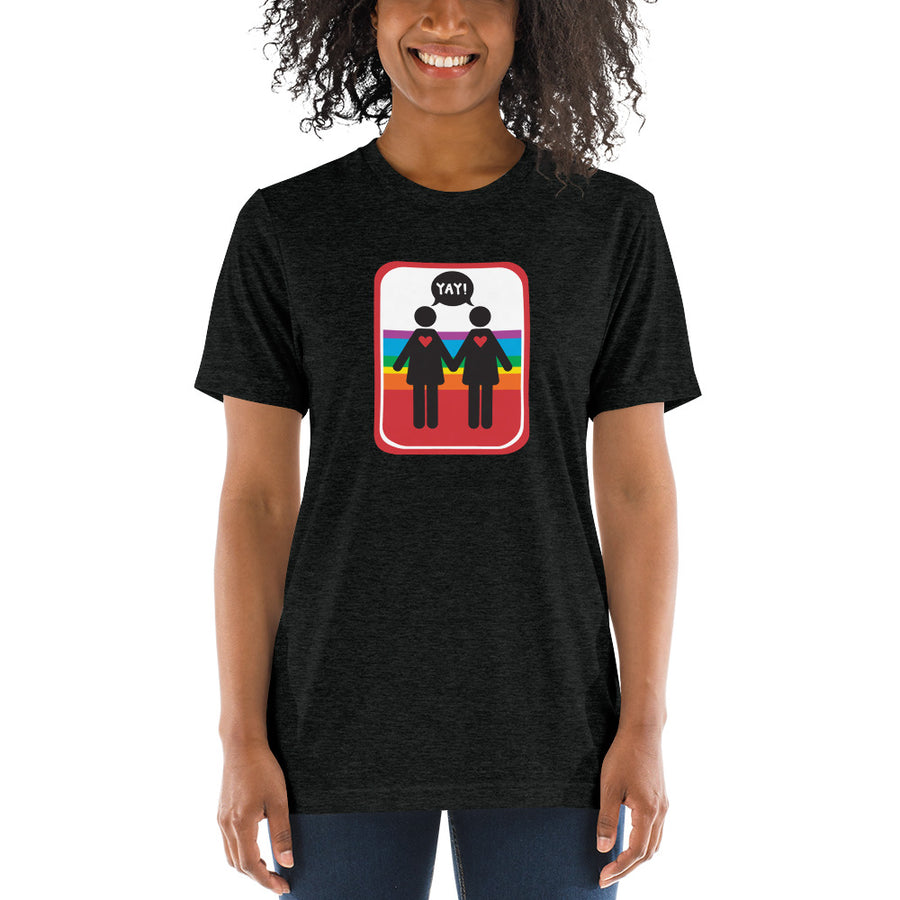 UNISEX PICTO PRIDE F+F Short sleeve t-shirt YAY T-SHIRTS
