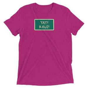 YAY! KALE! Unisex short sleeve t-shirt