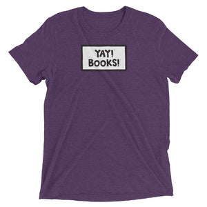 YAY! BOOKS! Unisex Short sleeve t-shirt
