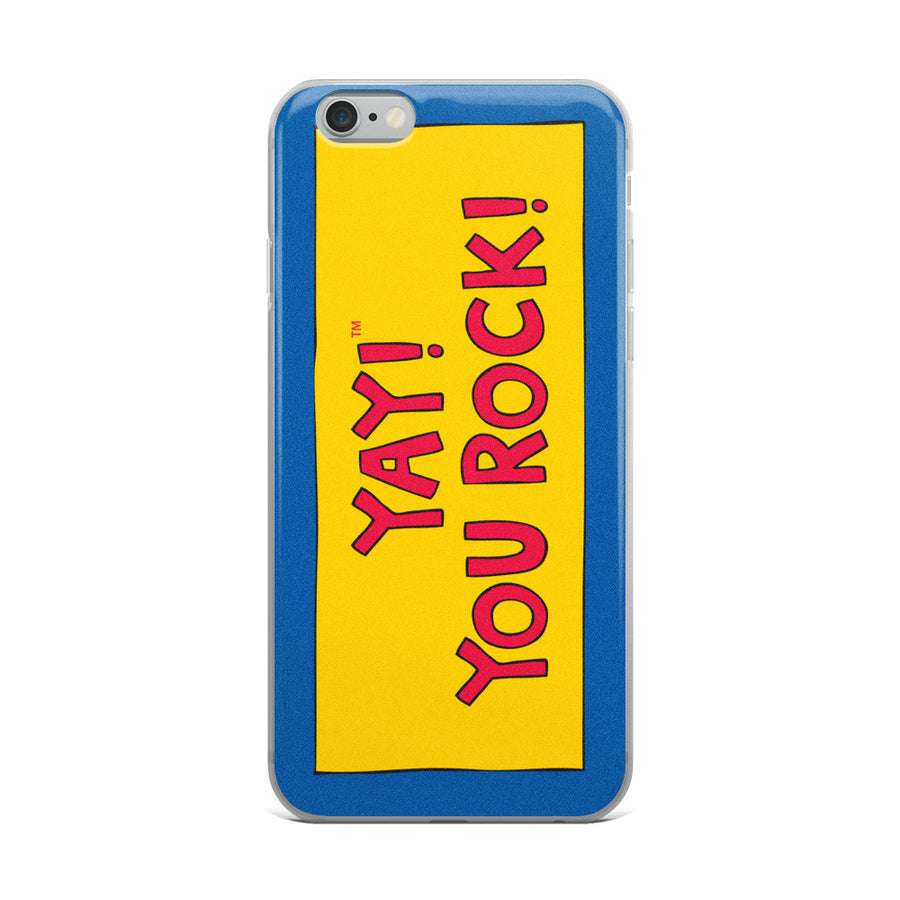 YAY! YOU ROCK! iPhone Case