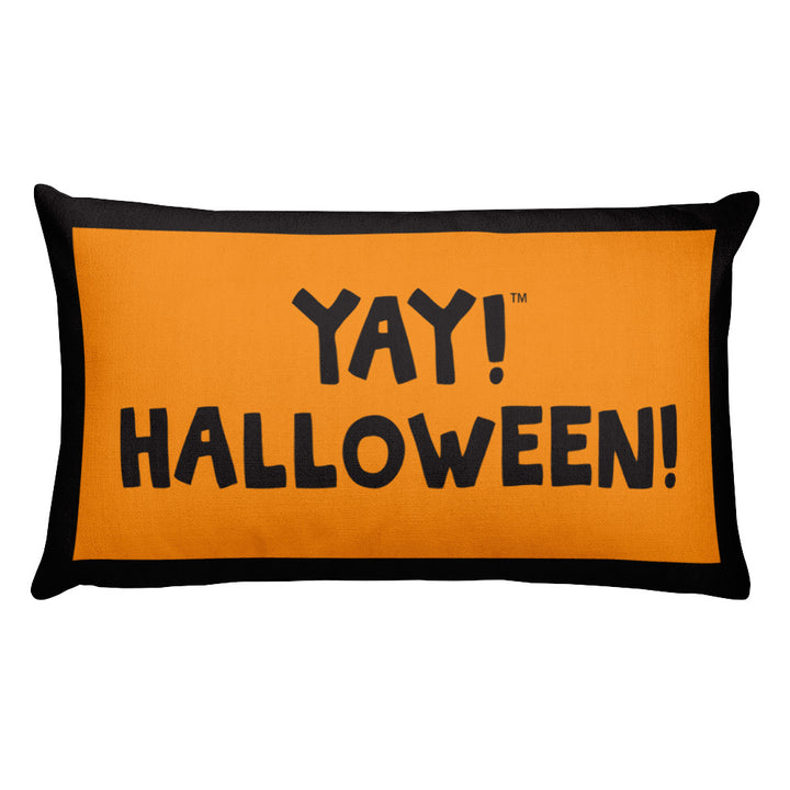 YAY! HALLOWEEN! Rectangular Pillow