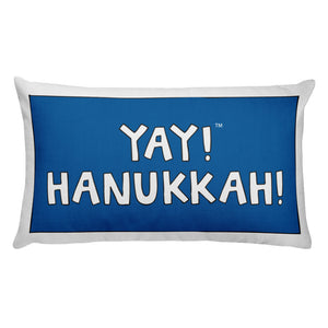 YAY! HANUKKAH! Rectangular Pillow