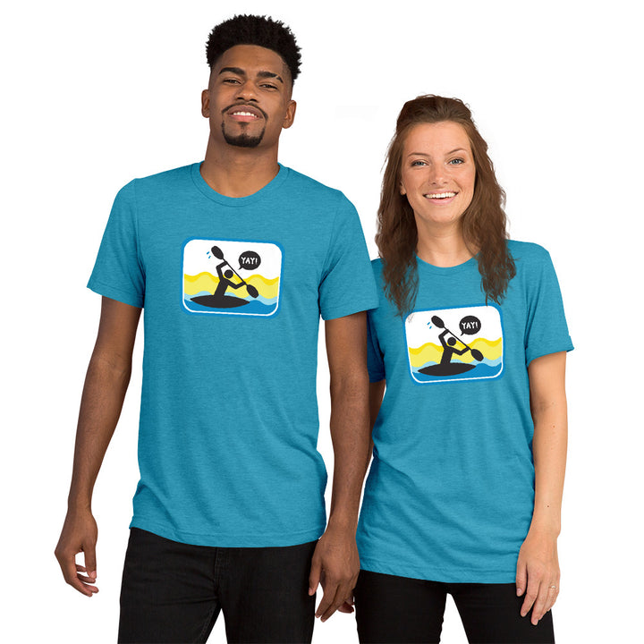 UNISEX PICTO PADDLING Short sleeve t-shirt YAY T-SHIRTS