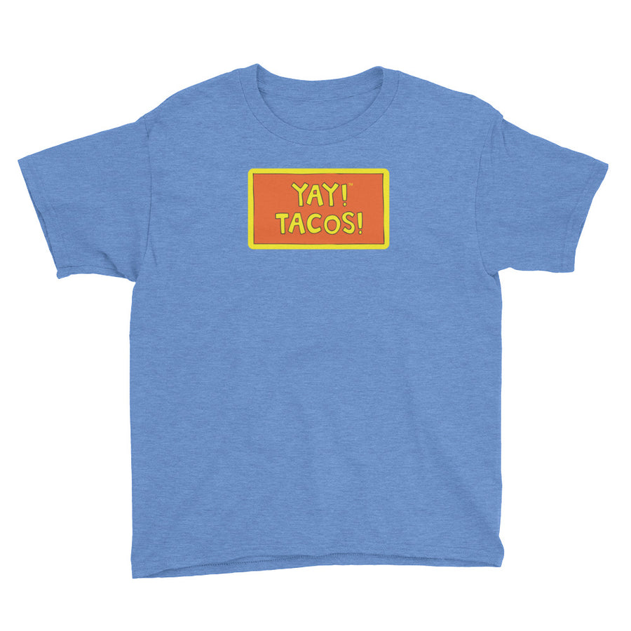 YAY! TACOS! Youth Short Sleeve T-Shirt