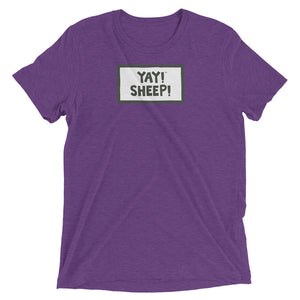 UNISEX YAY! SHEEP! Short sleeve t-shirt