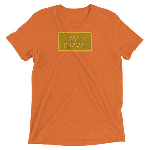 YAY! GRAVY! UNISEX Short sleeve t-shirt