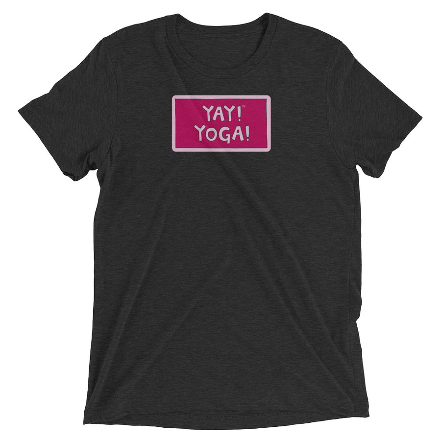 YAY! YOGA! Unisex short sleeve t-shirt