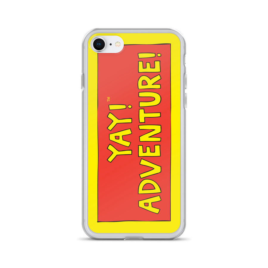 YAY! ADVENTURE! iPhone Case