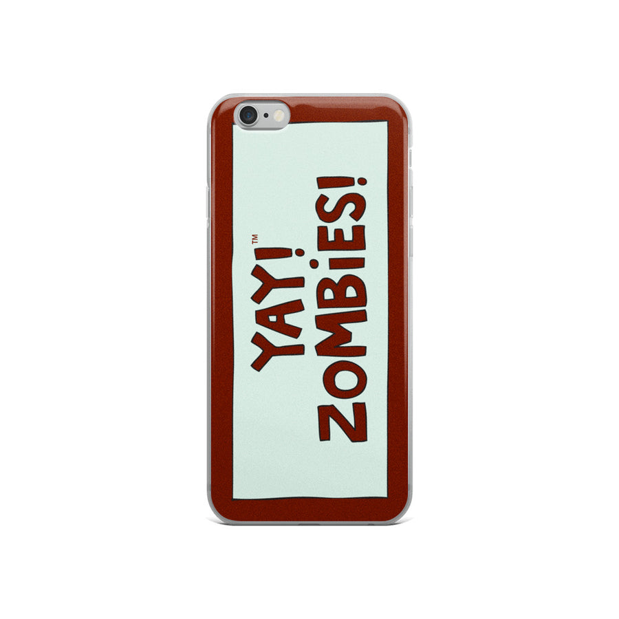 YAY! ZOMBiES! iPhone Case