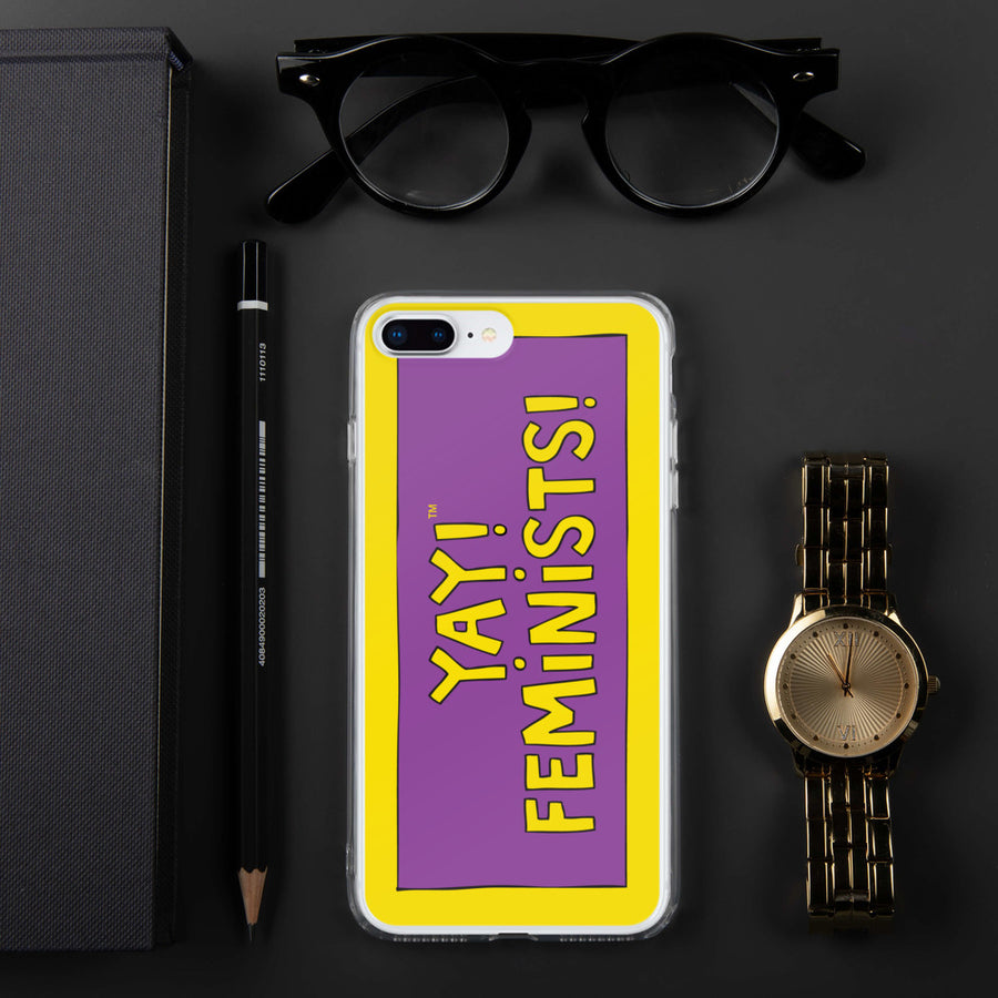 YAY! FEMINISTS! iPhone Case