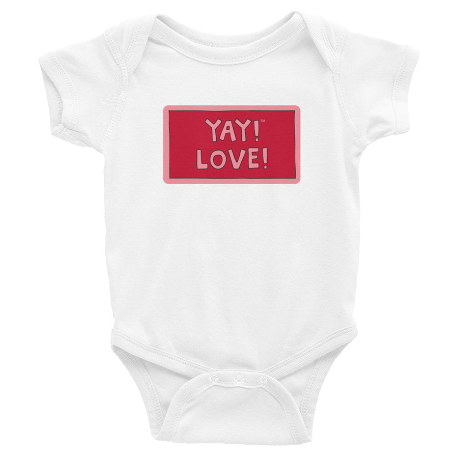 YAY! LOVE! Infant Bodysuit