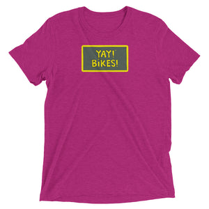 YAY! BiKES! Unisex Short sleeve t-shirt