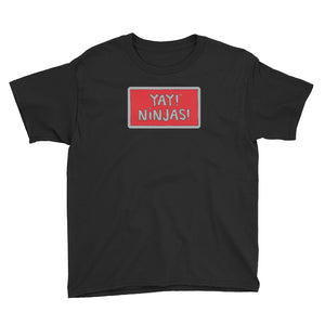 YAY! NINJAS! Youth Short Sleeve T-Shirt