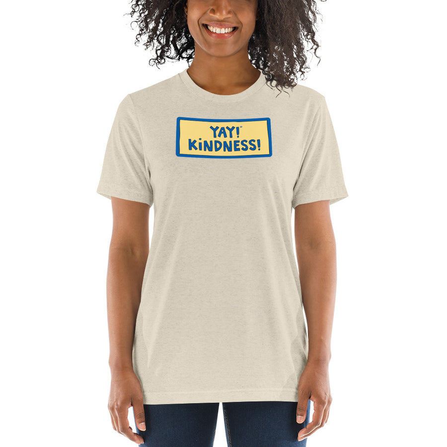 YAY! KINDNESS! UNISEX Short sleeve t-shirt