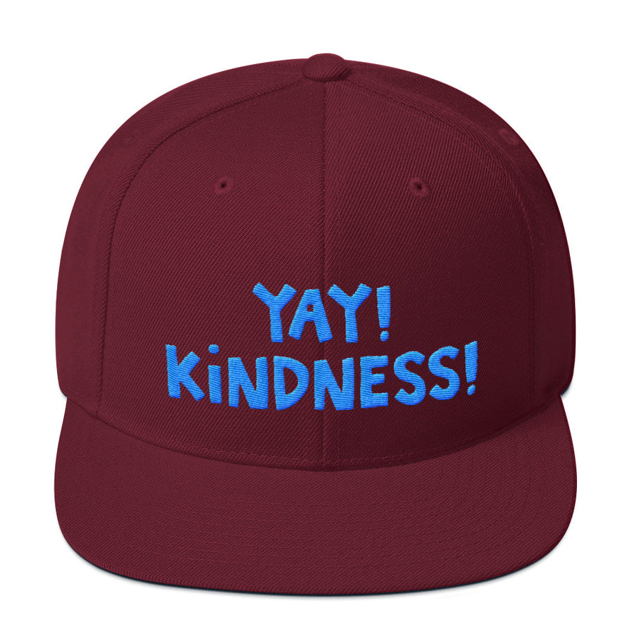YAY! KINDNESS! Snapback Hat