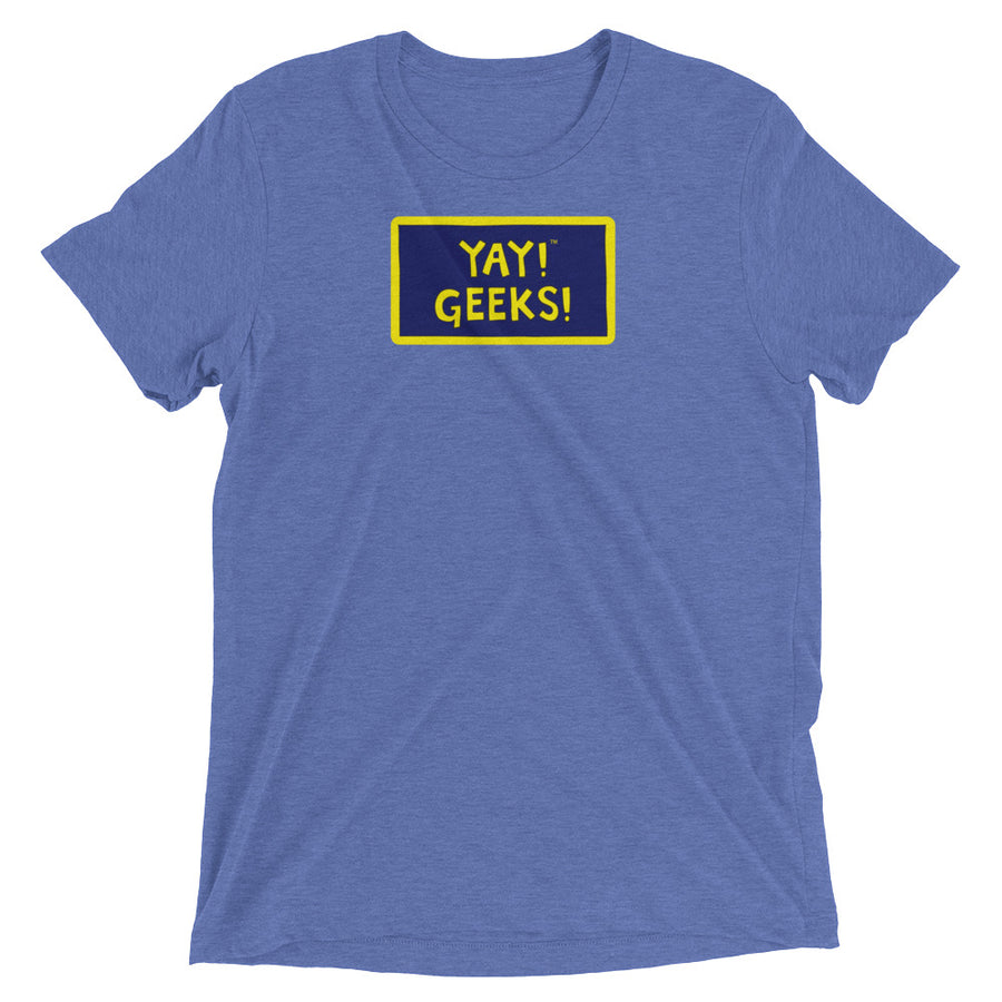 YAY! GEEKS! Unisex short sleeve t-shirt