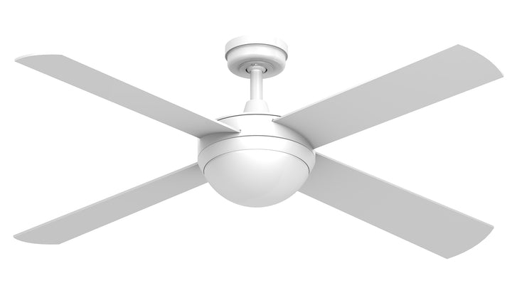 "52"" Intercept 2 with 12W LED Light ceiling fan by Hunter Pacific"