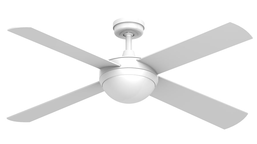 "52"" Intercept 2 with 12W LED Light - Crestwind Fans"