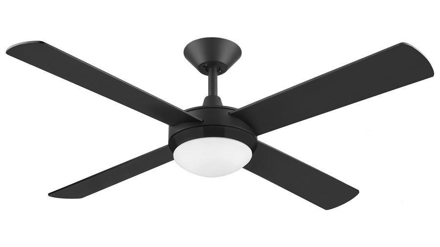 "52"" Intercept 2 with 24W LED Light ceiling fan by Hunter Pacific"