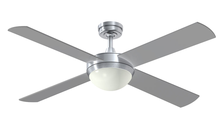 "52"" Intercept 2 with 10W LED Light ceiling fan by Hunter Pacific"