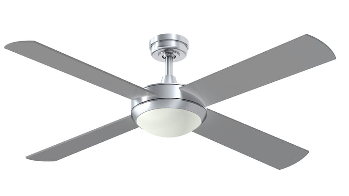"52"" Intercept with 12W LED Light ceiling fan by Hunter Pacific"