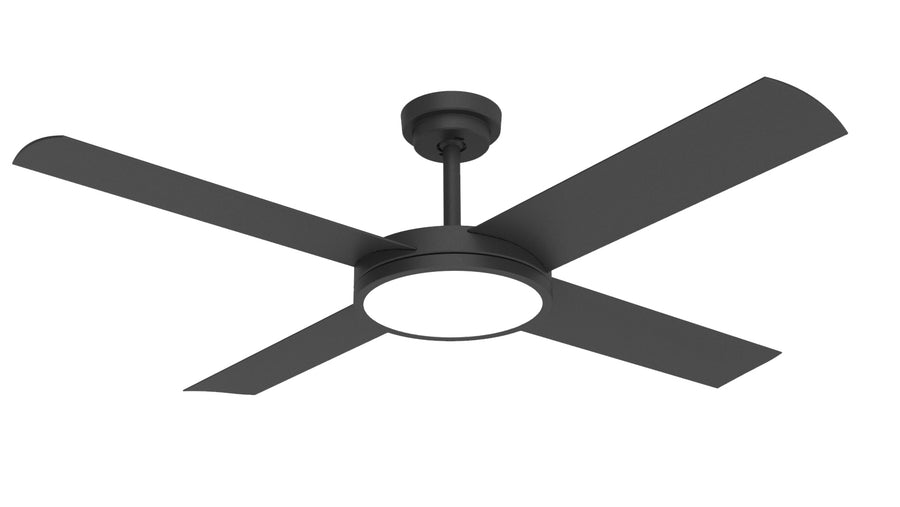 "52"" Revolution 3 with LED Light - Crestwind Fans"