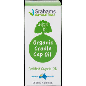 Organic Cradle Cap Oil