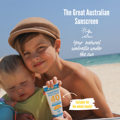 SunClear Natural Sunscreen SPF 40