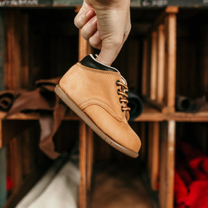 Blazer First Walker in Tan Nubuck | Sizes 2-8