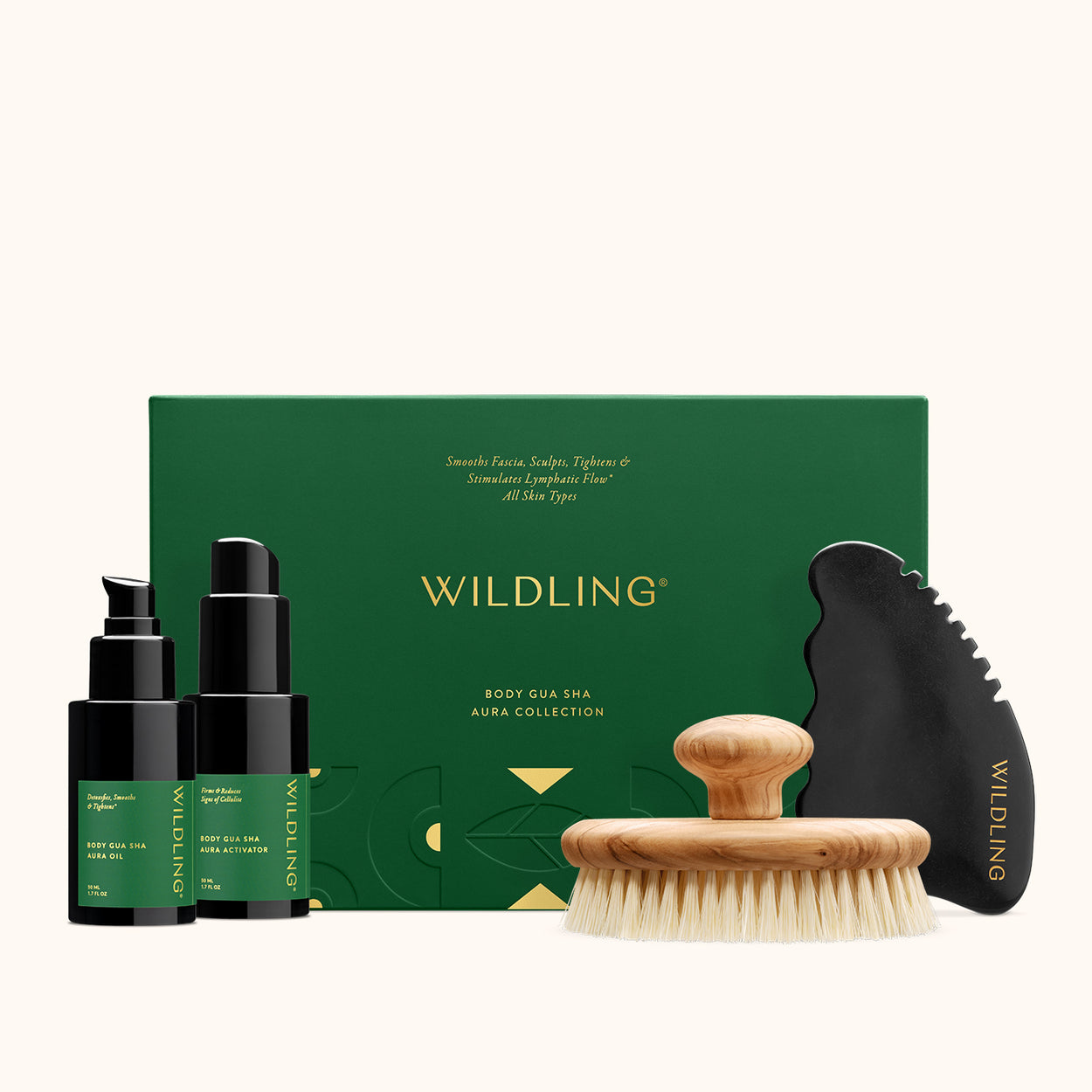 WLD-2113 Wildling Aura Body Gua Sha Collection