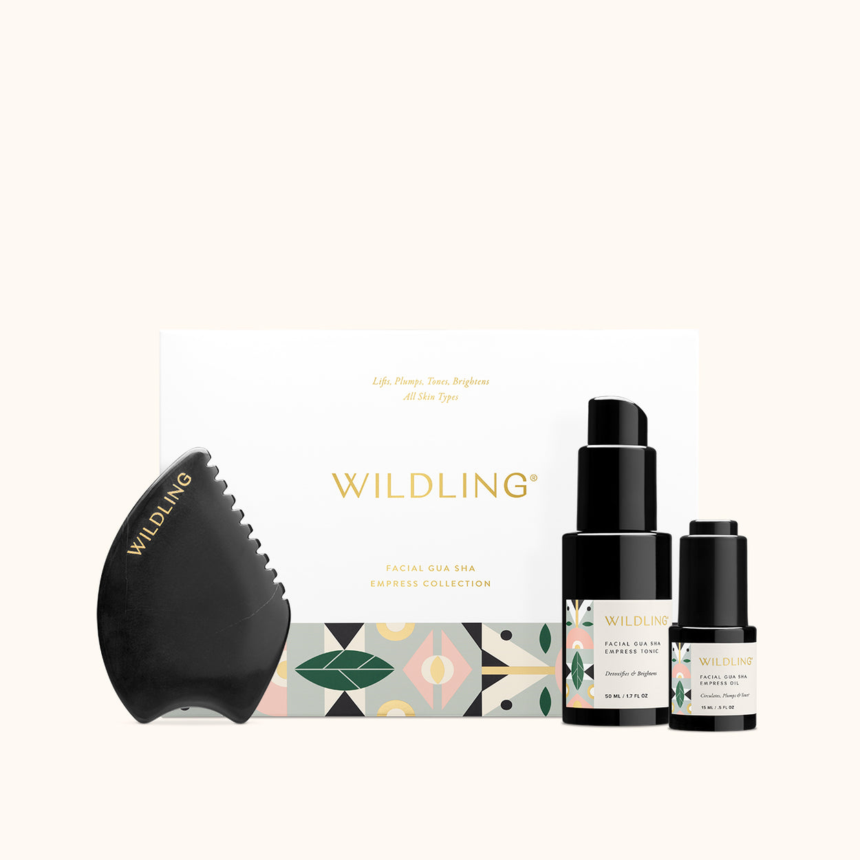 WLD-2446 Wildling Empress Collection Gua SHa Kit