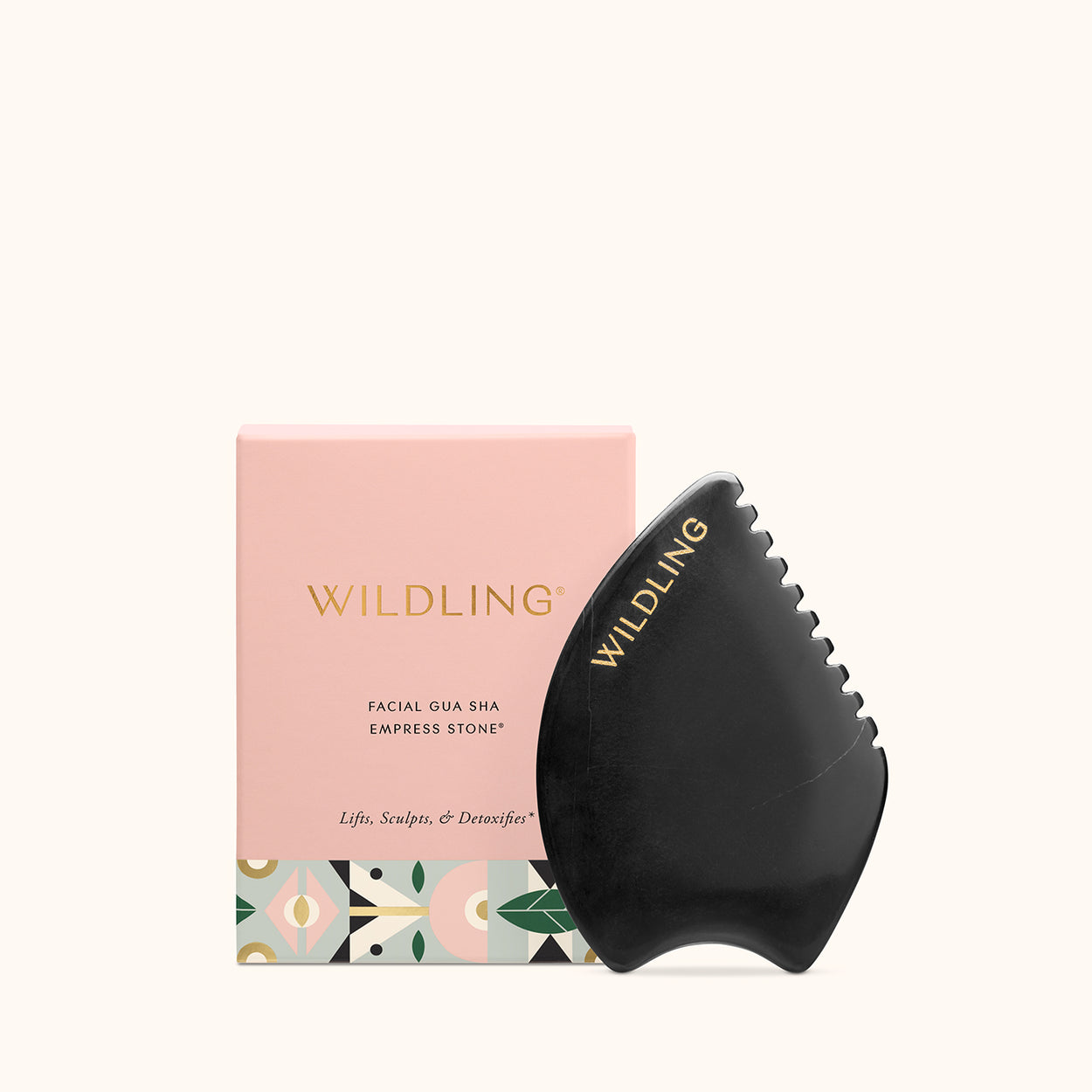 WLD-2477 Wildling Gua Sha Empress Stone with box