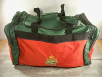 Vintage 90s 1994 NCAA Final Four Charlotte Carry On Weekender Overnight Travel Duffle Bag Pack