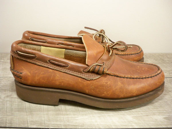Vintage Gokeys? Leather Moccasins Forest Hunting Work Mens Loafer Shoes Size 9.5
