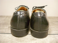 Vintage Red Wing Black Leather Non Steel Toe Delivery Mail Man Oxfords Men's Shoes Size 8.5