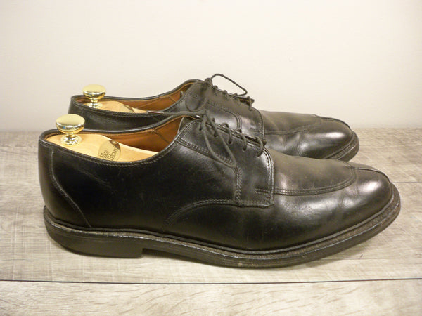Allen Edmonds Black Leather Spilt Toe Oxfords Lace Up Men's Shoes Size 11.5