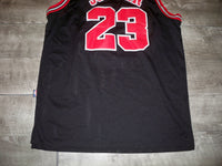 Vintage Nike Team 90s Chicago Bulls Michael Jordan #23 NBA Basketball Jersey Uniform Size XL