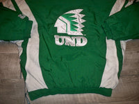Vintage Starter North Dakota Fighting Sioux Men's Pullover Windbreaker Jacket Coat Size Large