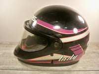 Vintage Polaris By Bell Racing Snowmobile Sled Riding Indy Helmet Lid Size Medium
