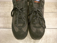 Vintage Ford Racing Racer Driving Black Leather Mens Boots Shoes Sneaker Size 11
