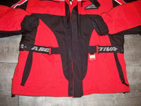 Arctiva Red Insulated Insulation Men's Snowmobile Riding Racing Jacket Size Medium