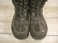 Ugg Australia 5521 Butte Men's Waterproof Leather Snow Rain Work Black Boots Size 10.5