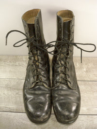 Vintage Men's 1970s Vietnam War RoSearch US Military Combat Soldier Biker Soft Toe Boots Size 11