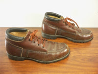 Vintage Men's Eddie Bauer Hiking Hunting Stomper Work Boots Leather Size 9.5