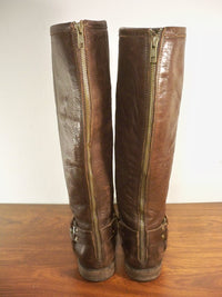 Frye #76850 Women's Phillip Harness Tall Knee High Leather Riding Boots Size 9