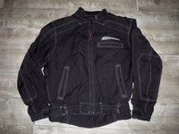 Honda Biker Chopper Crotch Rocket Cafe Racer Motorcycle Jacket Men's Size Large