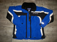 Vintage Polaris Pure Snowmobile Sled Insulated Racing Men's Jacket Coat Size Medium