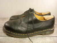 Dr. Martens Doc England Mens Smooth Vintage Black Leather 1461 Soft Toe Shoes Size 13 US