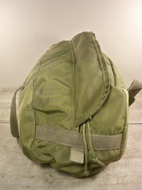 Vintage US Army Military Mechanic Tool Bag Satchel Small Duffle Zipped Canvas